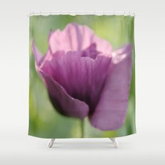 Poppy Violet Shower Curtain