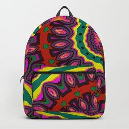 #kaleidoscope #mandala #ornament #3 Backpack