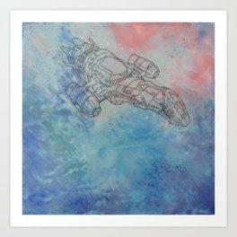 Serenity - Firefly Art Print