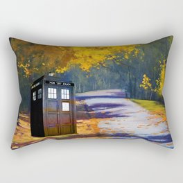 Tardis Autumn Rectangular Pillow