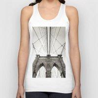 brooklyn bridge Tank Tops featuring Brooklyn Bridge by Niklas Veenhuis