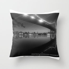PASSING REFLECTION Throw Pillow