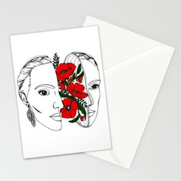 The Poppy Flowers Stationery Cards