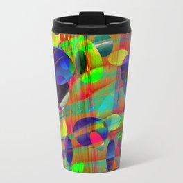 Dots and Curves Travel Mug