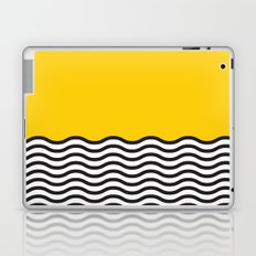 Waves of Yellow Laptop & iPad Skin