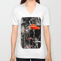 sin city V-neck T-shirts featuring Sin City by Irène Sneddon