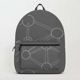 Atomium Illustration Backpack