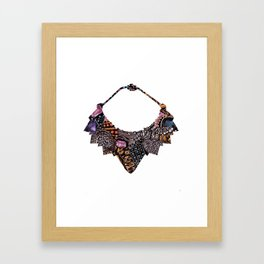 Cartier Necklace Framed Art Print
