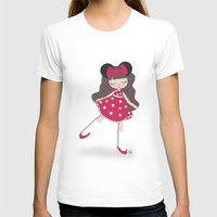 minnie T-shirts featuring minnie love by made by kale