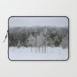 Beautiful Ice Storm Laptop Sleeve