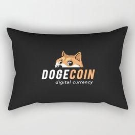 Dogecoin Nascar Rectangular Pillow
