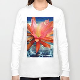 The Water Lily Cactus Long Sleeve T-shirt