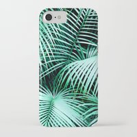 palms iPhone & iPod Cases featuring Palms by Karen Hofstetter