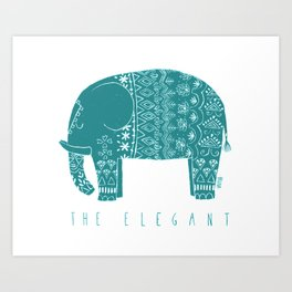 THE ELEGANT Art Print