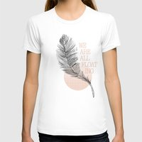 feather T-shirts featuring Feather by Koning