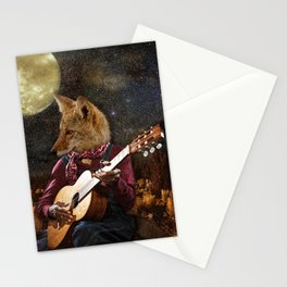 Tom Coyote and the Full Moon Stationery Cards