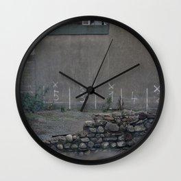 Parking Spot Wall Clock