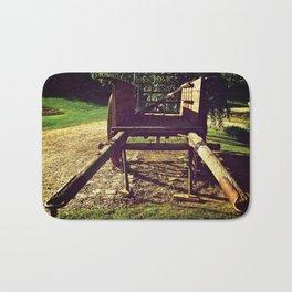 Country Wheels Bath Mat