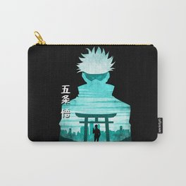 Minimalist Silhouette Gojo Carry-All Pouch