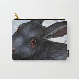 Svart Hare Carry-All Pouch