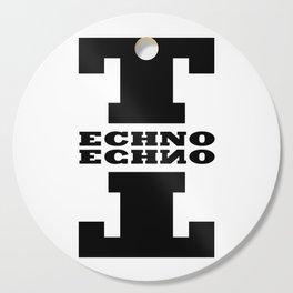 Techno Anagram Cutting Board