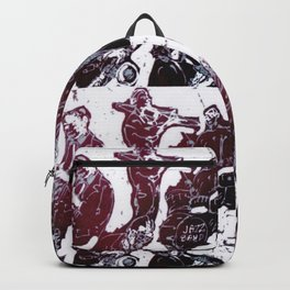 All that Jazz  tonight    by Kay Lipton Backpack