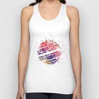 death star Tank Tops featuring Star . Wars Death Star by Carma Zoe