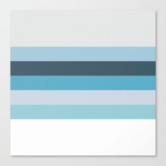 Summer Shades of Blue Canvas Print