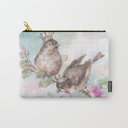 French Crown Songbirds I Carry-All Pouch
