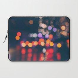 BRIGHT LIGHTS BIG CITY Laptop Sleeve