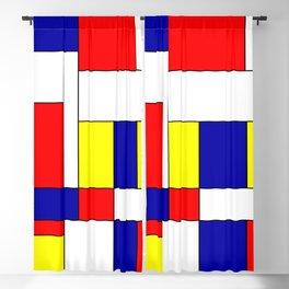 Mondrian #37 Blackout Curtain