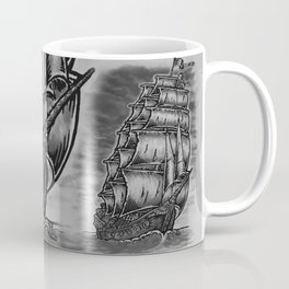 Caleuche Ghost Pirate Ship Coffee Mug