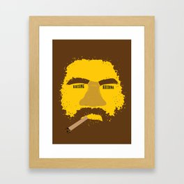 Coen Brother's Raising Arizona Framed Art Print