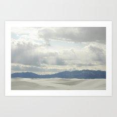 White Sands, NM Art Print