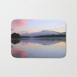 Tranquil Morning in the Adirondacks Bath Mat