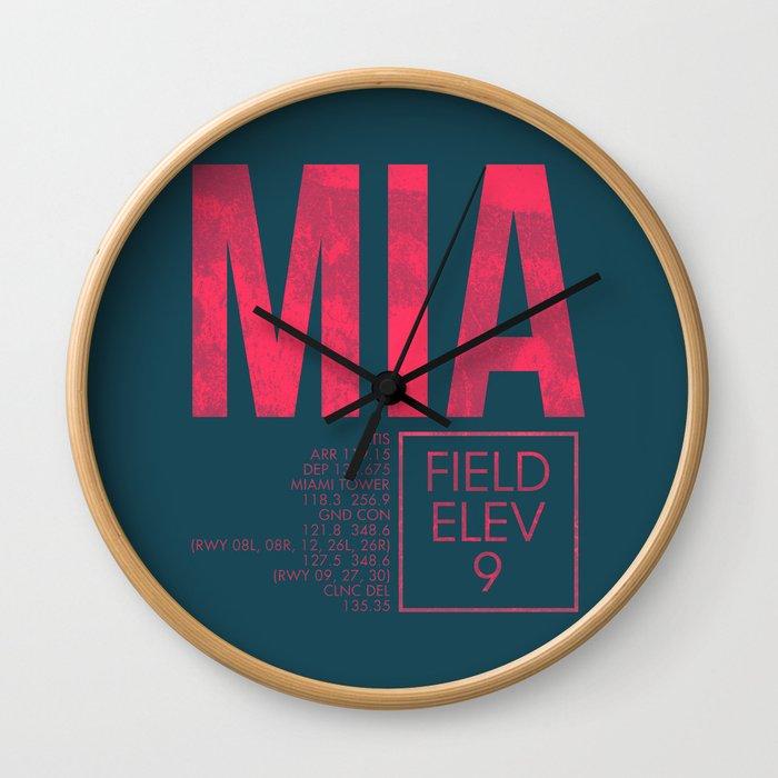 MIA II Wall Clock