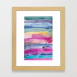 32  | 190907 | Watercolor Abstract Painting Framed Art Print