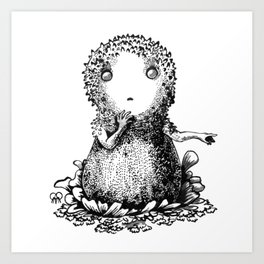 The Common Puffball Art Print