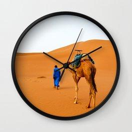Sahara Desert Wall Clock