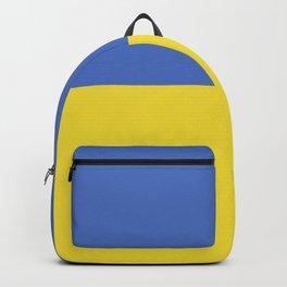 Ukraine flag emblem Backpack