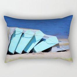 Boat for rent 1 Rectangular Pillow