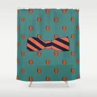 teacher Shower Curtains featuring Kindergarten Teacher by Jessica