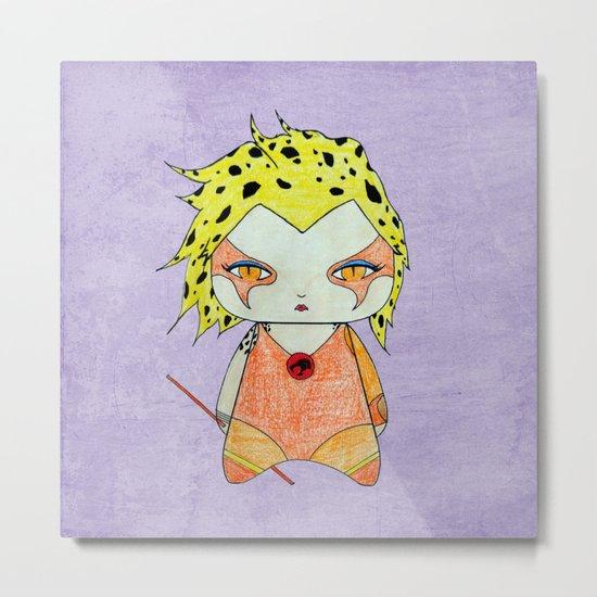 A Girl - Cheetara (Thundercats) Metal Print