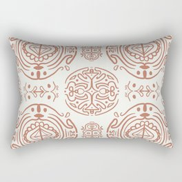 Nordic Clay #society6 #pattern Rectangular Pillow