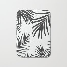 Palm Leaves Pattern Summer Vibes #2 #tropical #decor #art #society6 Bath Mat