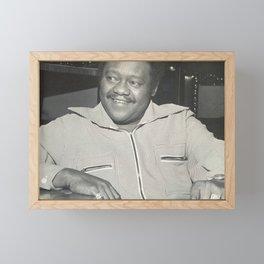 "Antoine ""Fats"" Domino Jr. - Society6 Fine Art Black Music Photography Online BLM ll9 Framed Mini Art Print"