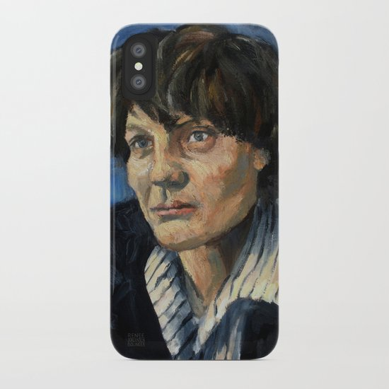 Iris Murdoch iPhone Case