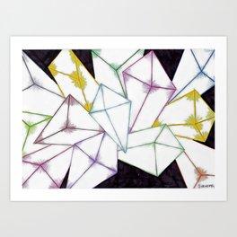 dimonds Art Print