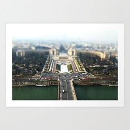 Small Paris Art Print