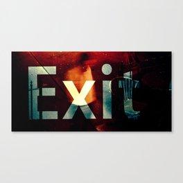 Exit II Canvas Print